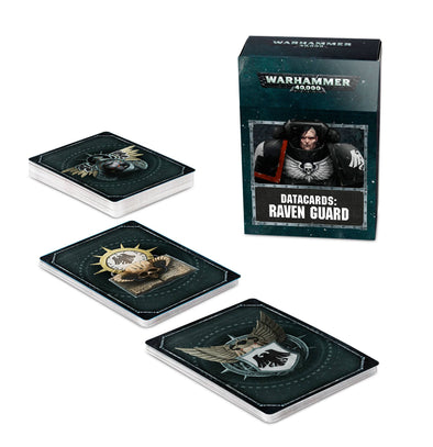 Warhammer 40,000 - Datacards: Raven Guard - 8th Edition available at 401 Games Canada