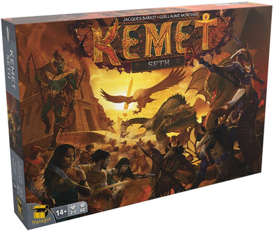 Buy Kemet - Seth and more Great Board Games Products at 401 Games