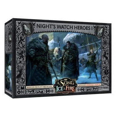 A Song of Ice and Fire - Tabletop Miniatures Game - Night's Watch - Night's Watch Heroes 1