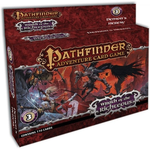 Pathfinder Adventure Card Game - Wrath of the Righteous - Adventure Deck 3 - Demons Heresy - 401 Games