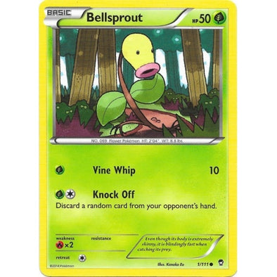 Buy Bellsprout - 1/111 - Reverse Foil and more Great Pokemon Products at 401 Games
