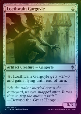 Locthwain Gargoyle (Foil) (ELD) available at 401 Games Canada