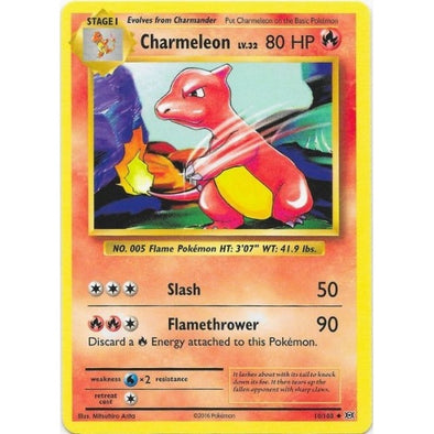 Buy Charmeleon - 10/108 and more Great Pokemon Products at 401 Games