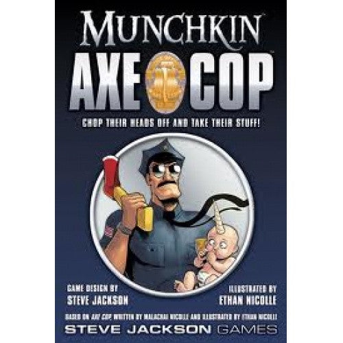 Munchkin Axe Cop available at 401 Games Canada