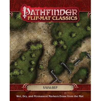 Pathfinder - Flip Mat - Classics: Swamp available at 401 Games Canada