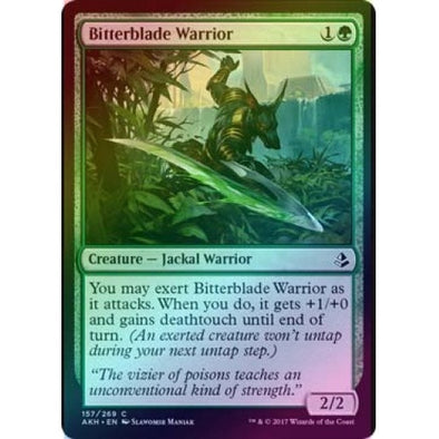Bitterblade Warrior (Foil) (AKH) available at 401 Games Canada