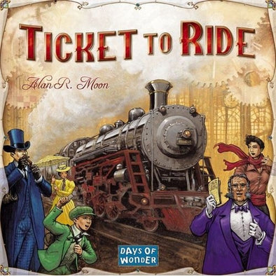Buy Ticket to Ride and more Great Board Games Products at 401 Games