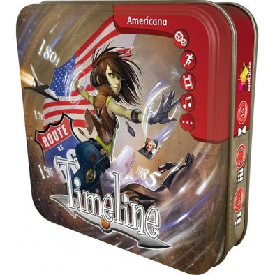Buy Timeline - Americana and more Great Board Games Products at 401 Games