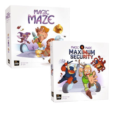 Board Game Bundle - Magic Maze and Expansion - 401 Games
