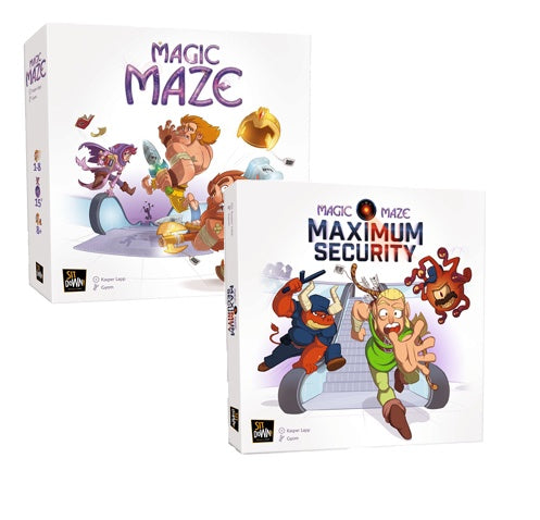 Board Game Bundle - Magic Maze and Expansion