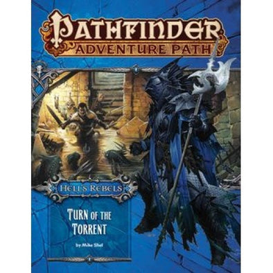 Pathfinder - Adventure Path - #98: Turn of the Torrent (Hell's Rebels 2 of 6) (CLEARANCE) available at 401 Games Canada