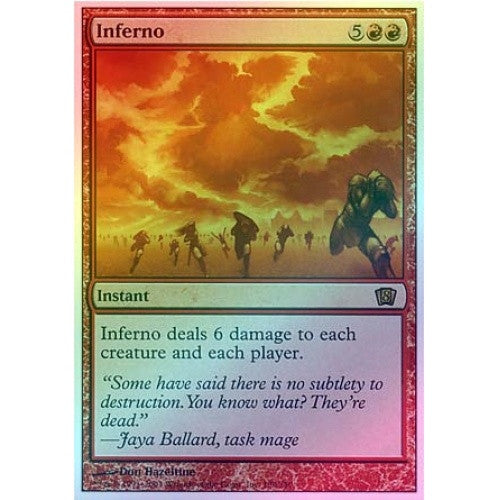 Inferno (Foil) available at 401 Games Canada