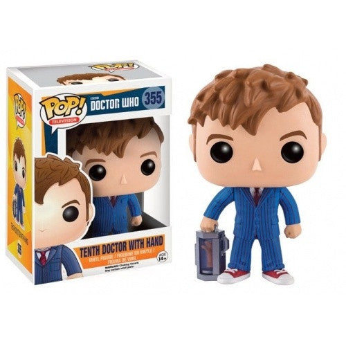 Buy Pop! Doctor Who - Tenth Doctor with Hand and more Great Funko & POP! Products at 401 Games