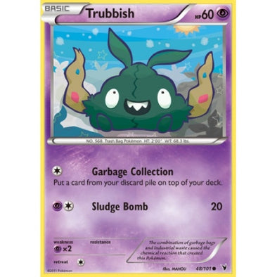 Trubbish - 48/101 - Reverse Foil - 401 Games
