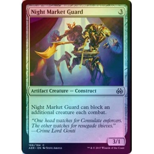Night Market Guard (Foil) (AER) available at 401 Games Canada