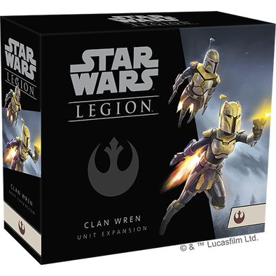Star Wars - Legion - Rebel - Clan Wren Unit Expansion (Pre-Order) - 401 Games