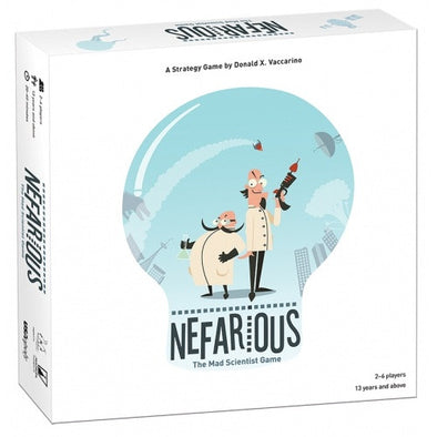 Buy Nefarious and more Great Board Games Products at 401 Games