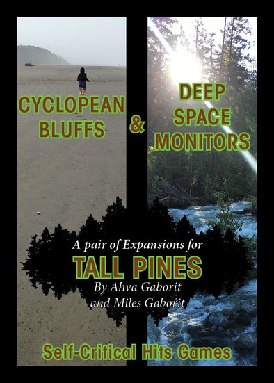 Buy Tall Pines - Cyclopean Bluffs & Deep Space Monitors and more Great RPG Products at 401 Games