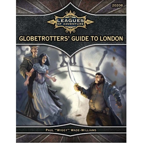 Leagues of Adventure - Globetrotters' Guide to London (CLEARANCE) available at 401 Games Canada