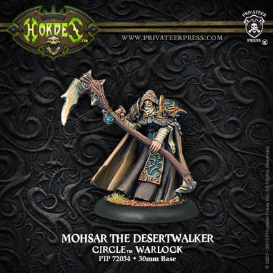Hordes - Circle Orboros - Mohsar the Desertwalker available at 401 Games Canada