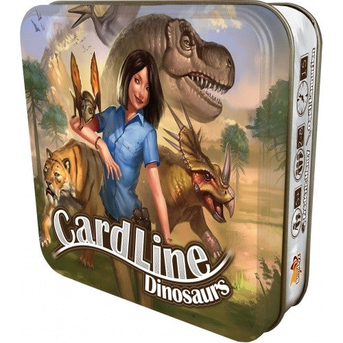 Buy Cardline - Dinosaurs and more Great Board Games Products at 401 Games