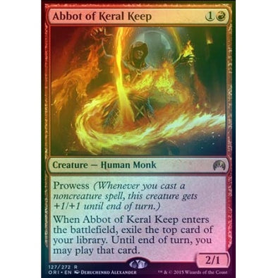 Abbot of Keral Keep (Foil) - 401 Games