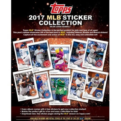 2017 Topps MLB Sticker Collection Box - 401 Games