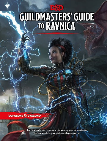Dungeons & Dragons - 5th Edition - Guildmaster's Guide to Ravnica available at 401 Games Canada