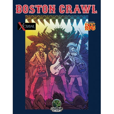 Buy Dungeon Crawl Classic - Boston Crawl and more Great RPG Products at 401 Games