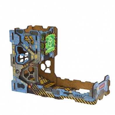 Dice Tower - Q-Workshop - Colour Tech (Wood) - 401 Games