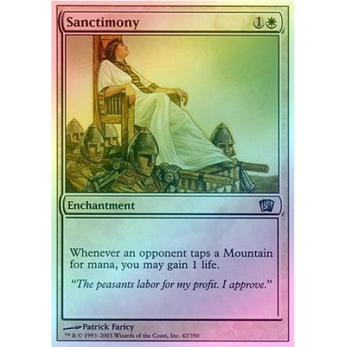 Sanctimony (Foil) available at 401 Games Canada