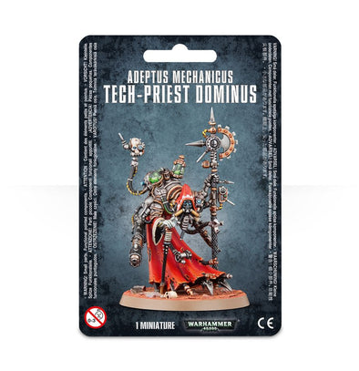 Buy Warhammer 40,000 - Adeptus Mechanicus - Tech-Priest Dominus and more Great Games Workshop Products at 401 Games