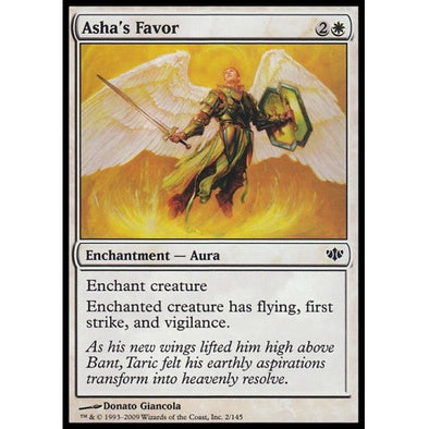 Asha's Favor (CON) available at 401 Games Canada