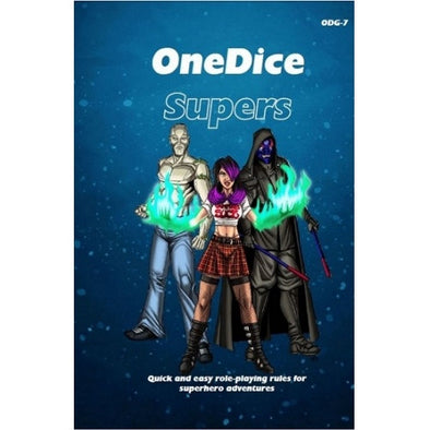 One Dice - Supers - Core Rulebook - 401 Games