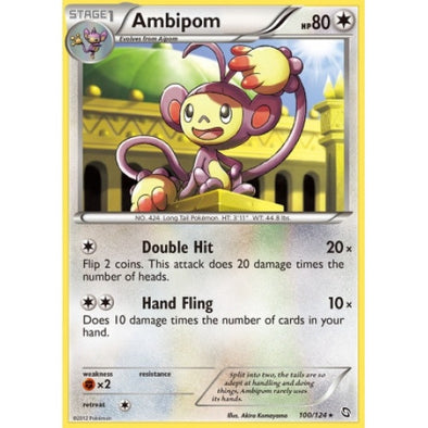 Buy Ambipom - 100/124 - Reverse Foil and more Great Pokemon Products at 401 Games