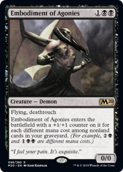 Embodiment of Agonies (M20) - 401 Games