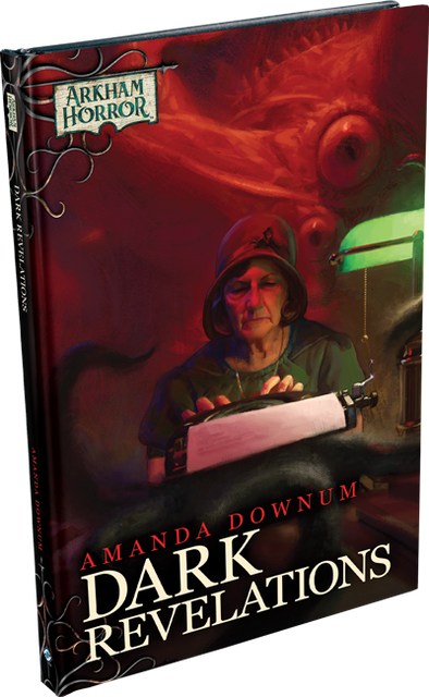 Arkham Horror - The Card Game - Novella - Dark Revelations + Exclusive Cards (Pre-Order Delayed/Allocated)) available at 401 Games Canada