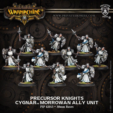 Buy Warmachine - Cygnar - Precursor Knights and more Great Tabletop Wargames Products at 401 Games