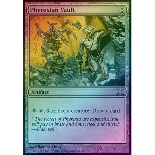 Phyrexian Vault (Foil) available at 401 Games Canada
