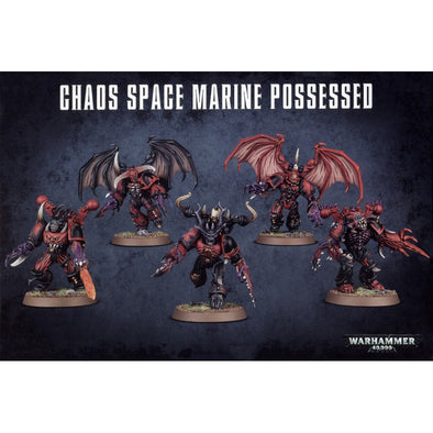 Warhammer 40,000 - Chaos Space Marines - Chaos Space Marine Possessed