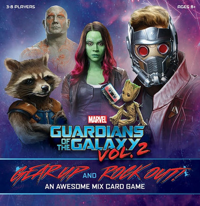 Guardians of the Galaxy, Vol. 2: Gear Up and Rock Out! An Awesome Mix Card Game - 401 Games