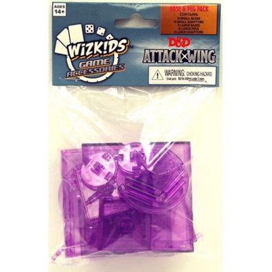 Dungeons and Dragons Attack Wing - Purple Base and Peg Set - 401 Games