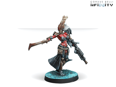 Infinity - Combined Army - Oznat, Morat Hunting Regiment (Vulkan Shotgun) available at 401 Games Canada