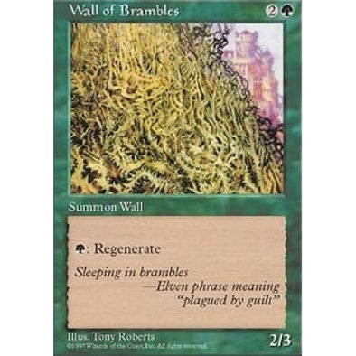Wall of Brambles - 401 Games