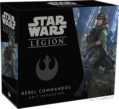 Buy Star Wars - Legion - Rebel - Rebel Commandos and more Great Tabletop Wargames Products at 401 Games