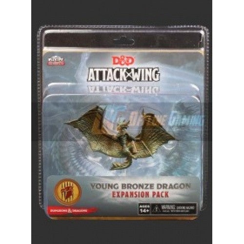 Dungeons and Dragons Attack Wing - Young Bronze Dragon - 401 Games
