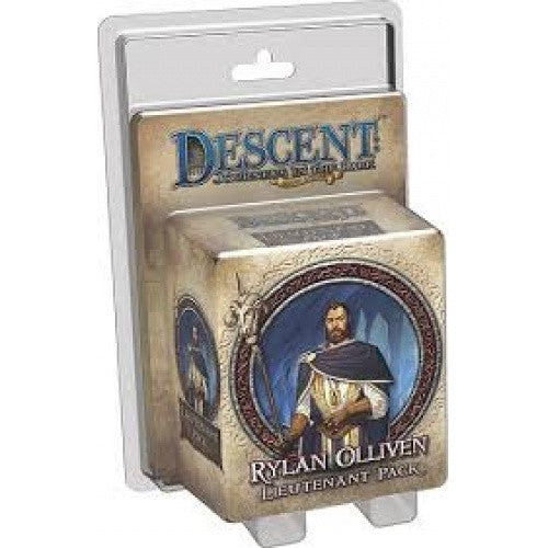 Descent - 2nd Edition - Rylan Olliven Lieutenant Pack available at 401 Games Canada