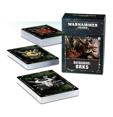 Warhammer 40,000 - Datacards: Orks - 8th Edition available at 401 Games Canada
