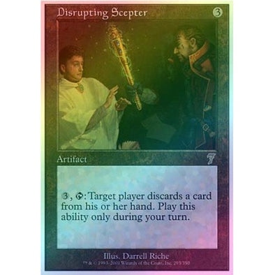 Disrupting Scepter (Foil) available at 401 Games Canada