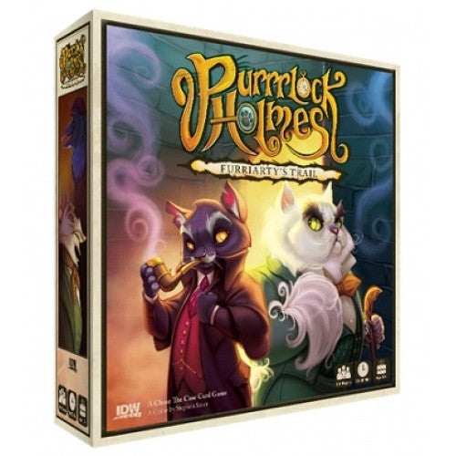 Purrrlock Holmes: Furriarty's Trail available at 401 Games Canada